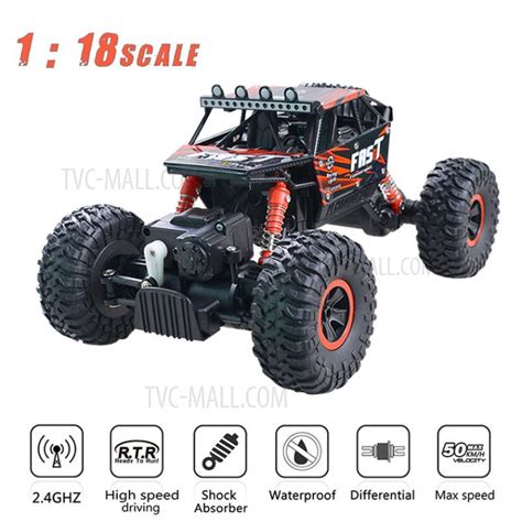 Rc Offroad Bigfoot Climber 4wd Rock Crawler 2 4 Ghz Biru yl 06 2 4g 1 18 scale remote rc car road rock