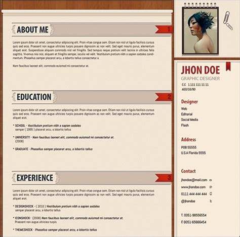Cv In Pattern Phuket Resume Collection And Creative Design 30 Amazing Resume Psd Template Showcase