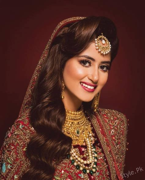 sajal ali wedding pics sajal ali photoshoot in bridal latest beautiful bridal shoot of sajal ali