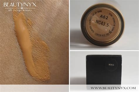 mac foundation colors mac studio fix fluid foundation review swatches b e