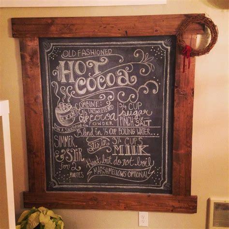 diy chalkboard wall frame chalkboard frame shanty 2 chic