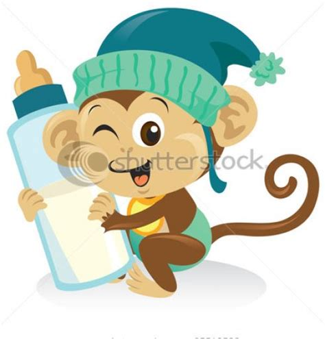 Cartoon Cute Baby Monkey   www.imgkid.com   The Image Kid