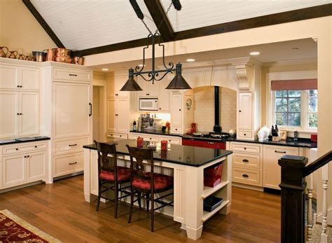 Rustic Kitchen Island Lighting Kitchen Cabinet Hardware Ideas Kitchen Traditional With Arched Cabinets Black And White Butler
