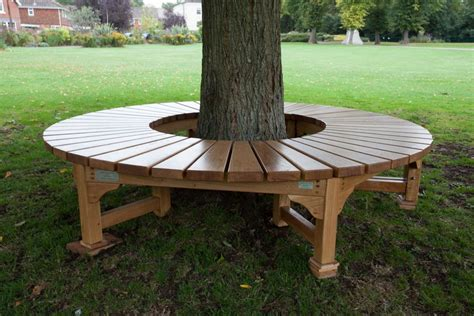 tree bench made from chairs build a bench around a tree tree seat for war memorial
