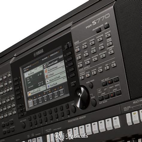Keyboard Yamaha S770 yamaha psr s770 keyboard