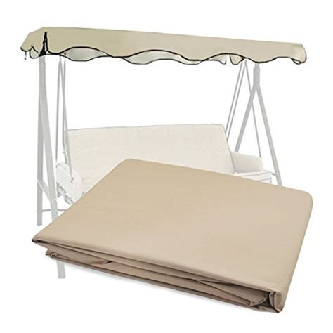 swing canopy replacement fabric garden winds riplock fabric beige color replacement