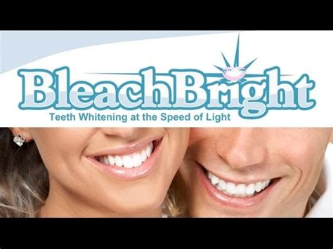 bleachbright teeth whitening   minutes youtube