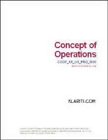 E Myth Operations Manual Template by Concept Of Operations Template Ms Word The Concept Of