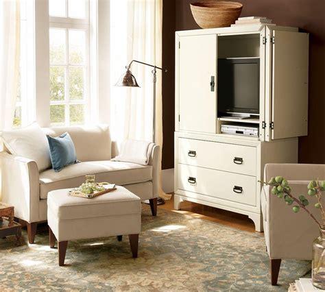 marcel upholstered mini sofa  cm pottery barn