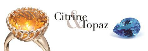 november birthstone topaz or citrine november s birthstone topaz and the other topaz citrine