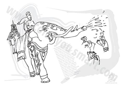 thailand elephant coloring page thai elephant pages coloring pages
