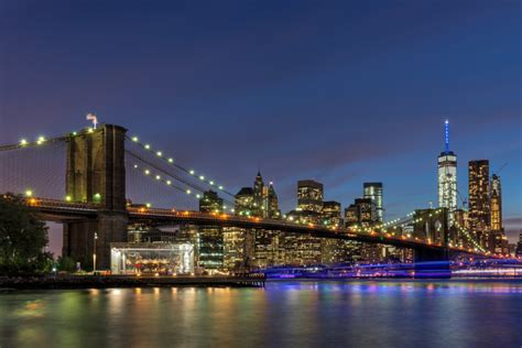 New York by New York City Skyline Rick Holliday