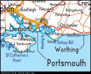 Portsmouth England Map by Map Of Portsmouth England Uk Map Uk Atlas