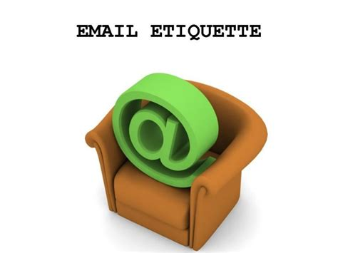 email ethics email etiquette at work