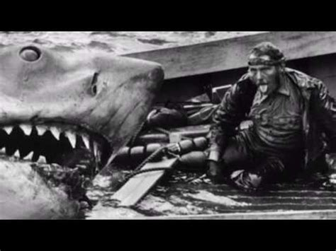 jaws boat death scene jaws behind the scenes of quint s death youtube