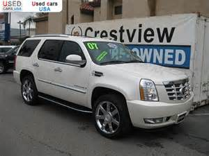 2007 Cadillac Escalade For Sale By Owner For Sale 2007 Passenger Car Cadillac Escalade Luxury West