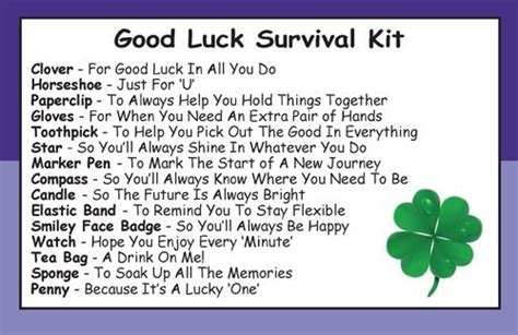 One For All Gift Card Ireland - good luck survival kit in a can humorous novelty fun gift present card all in one