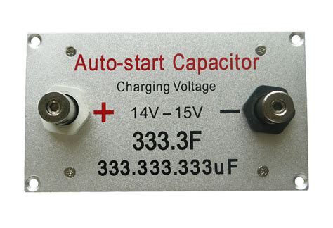 ultracapacitor engine battery starter booster ultracapacitor engine battery starter booster car ultra capacitor333f ebay