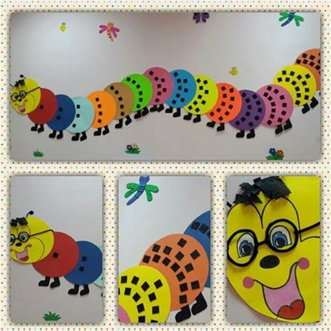 number craft for numbers themed caterpillar craft 171 preschool and homeschool