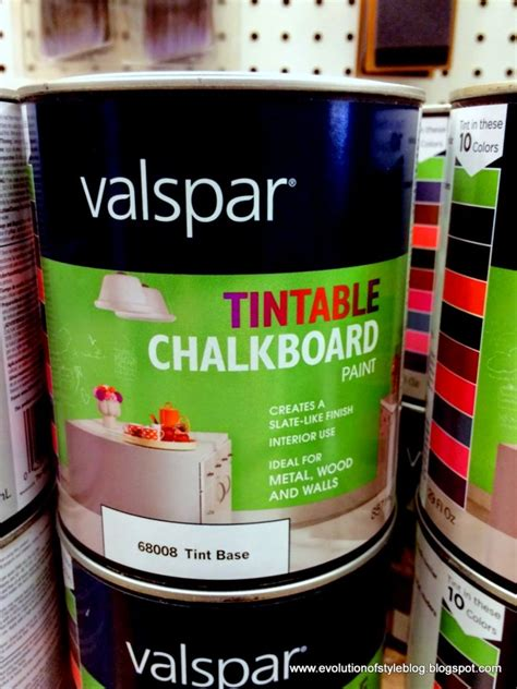 chalkboard paint tintable friday 5 1 evolution of style