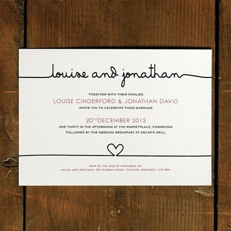 Wedding Invitation by Original Scribble Wedding Invitation Suite Jpg