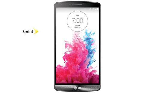 LG G3 Sprint: Smartphone with 5.5 inch Quad HD Display