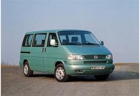 volkswagen bus 2000 vw t4 caravelle technical details history photos on