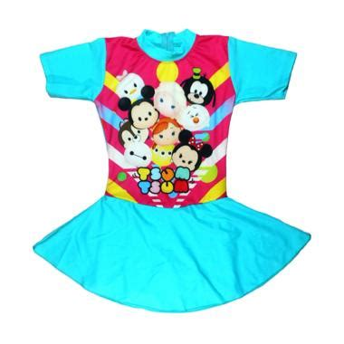Baju Renang Wanita Rok Motif Ul014 jual abg motif tsum baju renang rok anak tosca