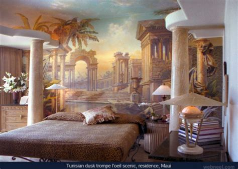 30 beautiful wall mural paintings for your inspiration