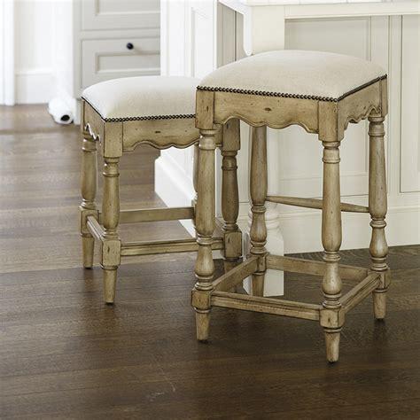 Marlow Nailhead Counter Stool marlow counter stool backless counter stool with leather