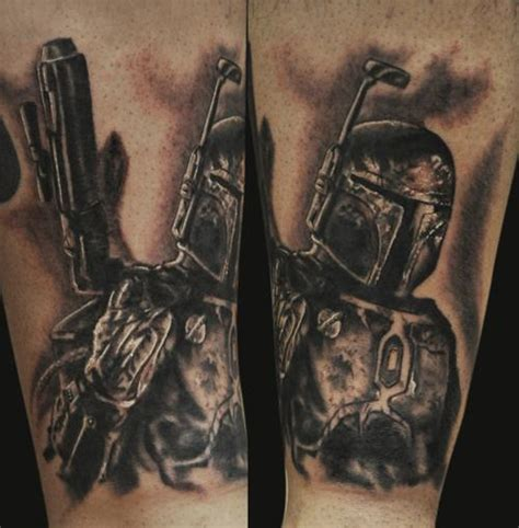 boba fett tattoos boba fett by tattoonow