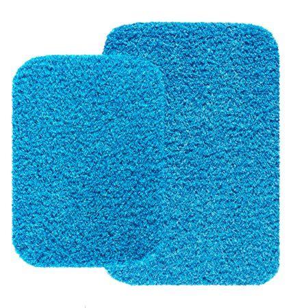 aqua bath rug mainstays 2 bath rug set aqua blue walmart