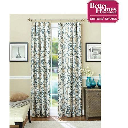 better homes and gardens marissa curtain panel better homes and gardens ikat scroll curtain panel