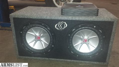 Subwoofer Kickers Cvr 12 Original Murah armslist for trade 2 kicker cvr 10 inch sub woofers in box with alpine mono for 40 ammo