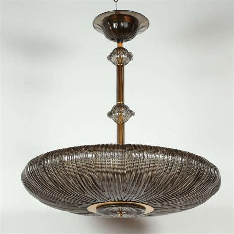 Smoked Glass Pendant Light Murano Smoked Glass Pendant At 1stdibs