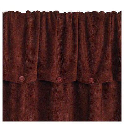 85 inch curtains croscill 2 chevron chenille 44 x 85 inch button down