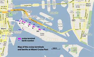 map of florida ports cruises professor cruise ship cruise departure port miami usa