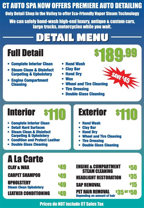 boat wash prices pin by floyd gilmon on mobile auto detailing pinterest