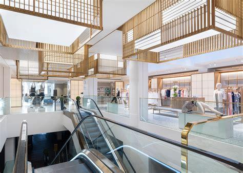Retail Spaces Buku Interior neri hu designs retail spaces for selfridges studio shopping mall retail