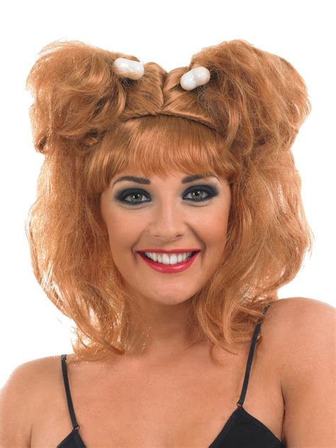 wilma hairstyle what color is wilma flintstones hair ladies cave girl wig