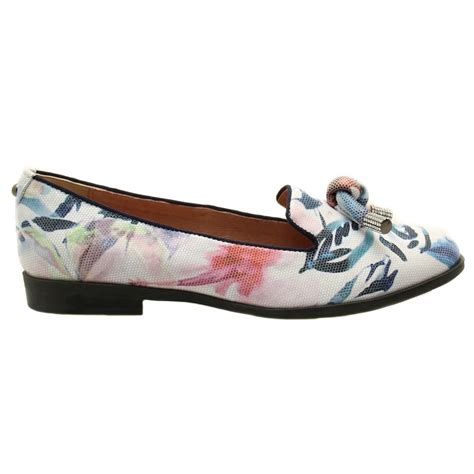 floral flat shoes buy moda in pelle womens floral enola flat shoes at hurleys