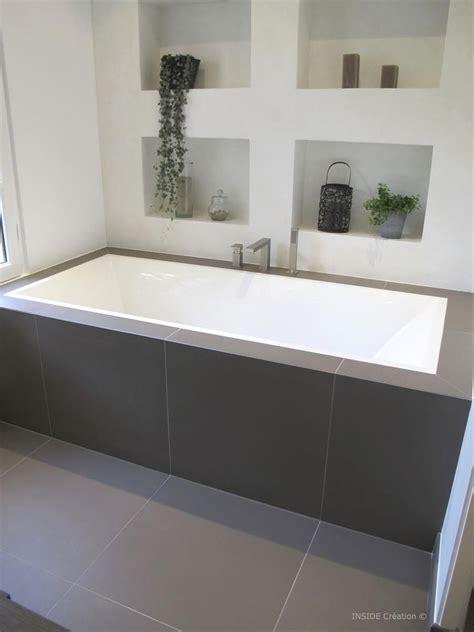 baignoire et combin礬e baignoire encastr 233 e et niches de rangement design and