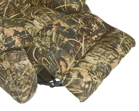 Max 4 Camo Recliner by Duck Dynasty Flat Rock Chaise Rocker Recliner In Realtree