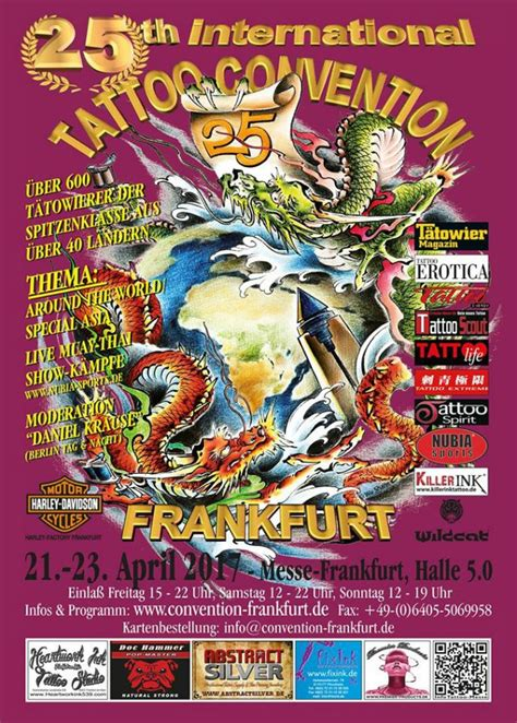tattoo convention frankfurt tattoo convention frankfurt april 2017