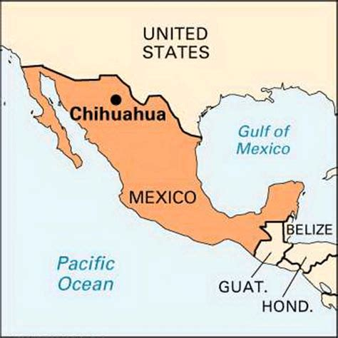 map of mexico chihuahua chihuahua location encyclopedia children s