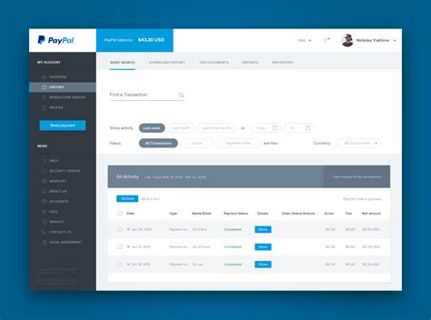 Links Best Of The Web Styledash by Data Table Dashboard Ui Design Dribbble Nickolay
