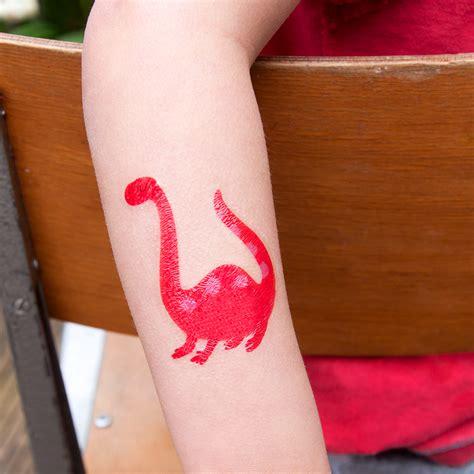 tattoo temporary london dinosaur temporary tattoos rex london at dotcomgiftshop