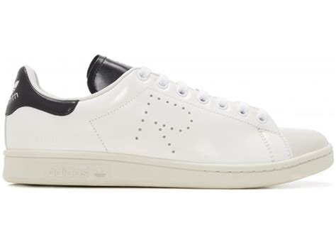adidas stan smith raf simons white black