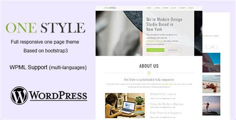 46 single page wordpress themes free website templates
