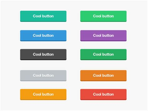 ui pattern buttons flat button kit free ui kits